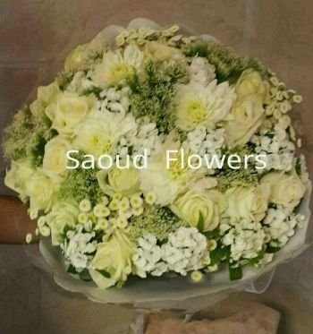 Funeral Flowers &  Sympathy White Life Kuwait