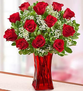 Valentines Day 17 Red Roses Kuwait
